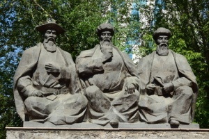 Monument to the Three Great Kazakh Judges in Astana